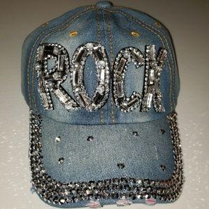 NWOT ROCK  Bling Hat